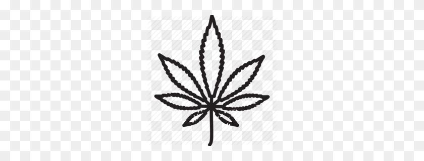260x260 Best Buds Weed Clipart - Marijuana Leaf PNG