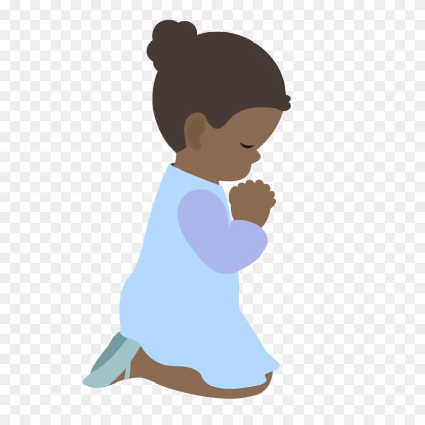 Best Children Praying Clipart - Jesus With Children Clipart