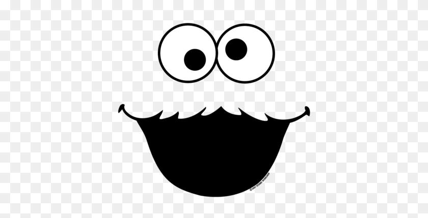 400x369 Best Cookie Monster Clip Art - Monster Face Clipart
