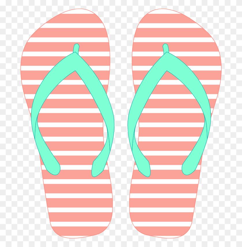 Best Flip Flop Clipart - Flip Flop Clip Art Free