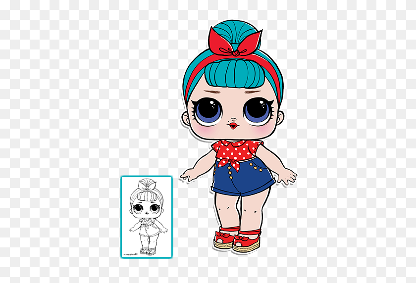 Best Lol Surprises Dolls Images Parties Kids - Lol Dolls Clipart