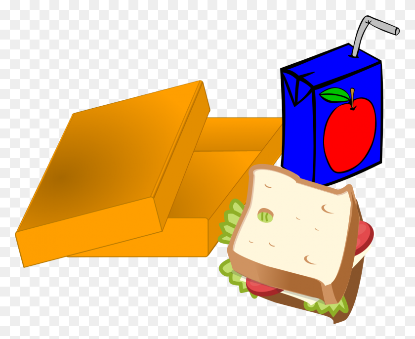 1200x964 Best Lunch Box Clipart - Lunch With Teacher Clipart