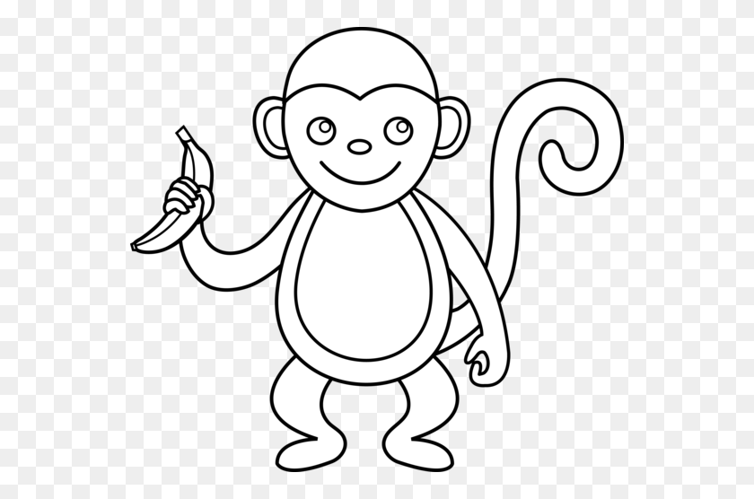 Free Outline Of A Monkey, Download Free Clip Art, Free Clip Art on Clipart  Library