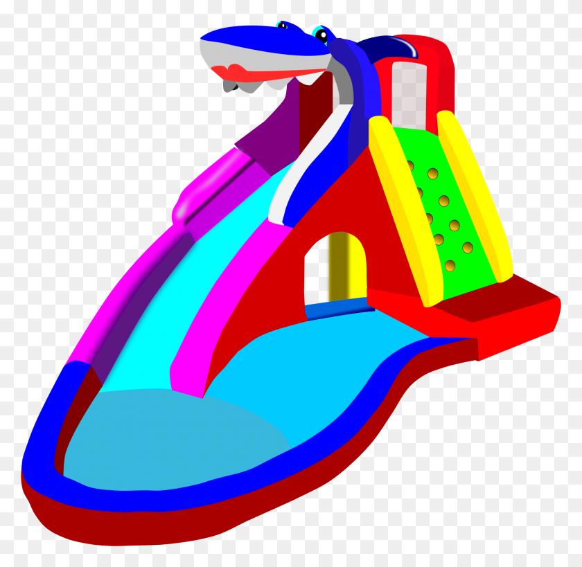 Best Water Slide Clip Art - Water Clipart PNG