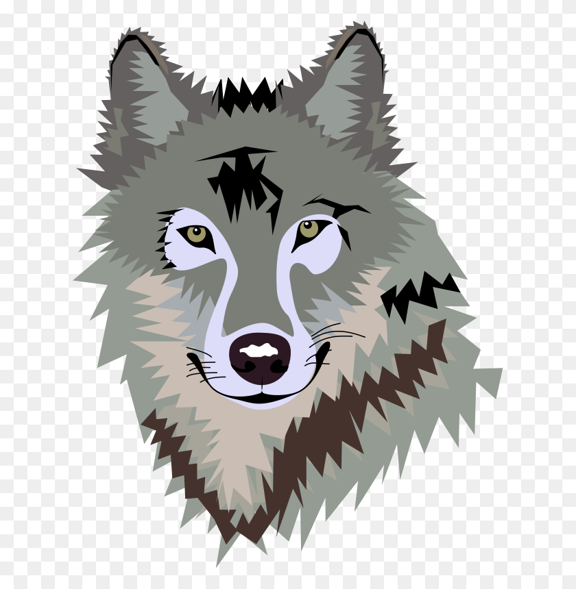 Best Wolf Clip Art - Sled Dog Clip Art