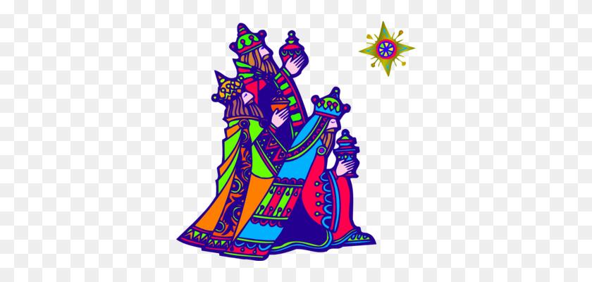 Biblical Magi Epiphany Adoration Of The Magi Drawing Free - Three Kings Clipart