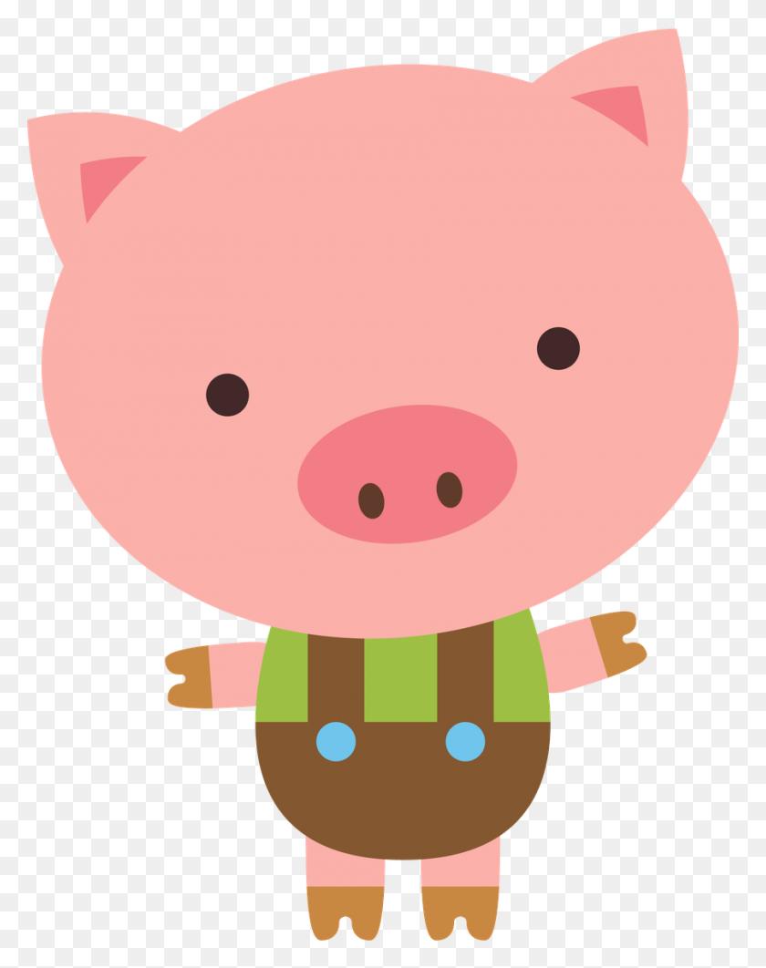 Biblioteca Escolar Clip Art - Cartoon Pig Clipart