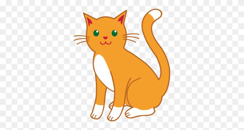 Big Cat Clipart Kitten - Cat Bed Clipart