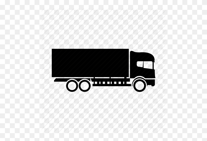 Big Rig, Truck, Vehicle Icon - Truck Icon PNG