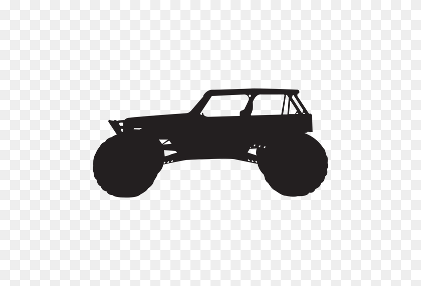 Bigfoot Car Silhouette - Car Silhouette PNG