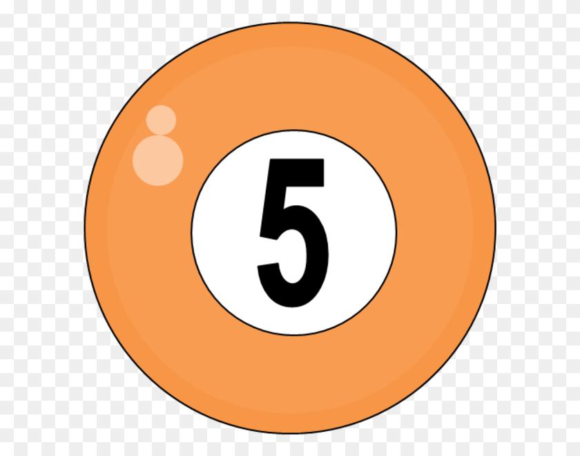 Billiard Balls Clipart Clip Art Images - Number 5 Clipart