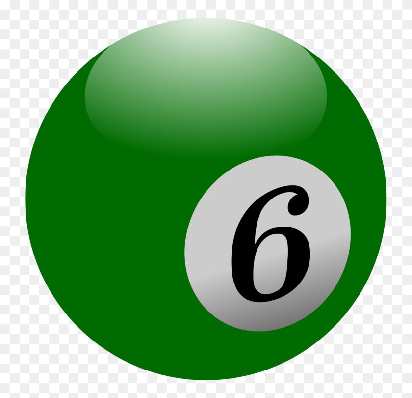 Billiard Balls Eight Ball Billiards Pool - Pool Balls Clipart
