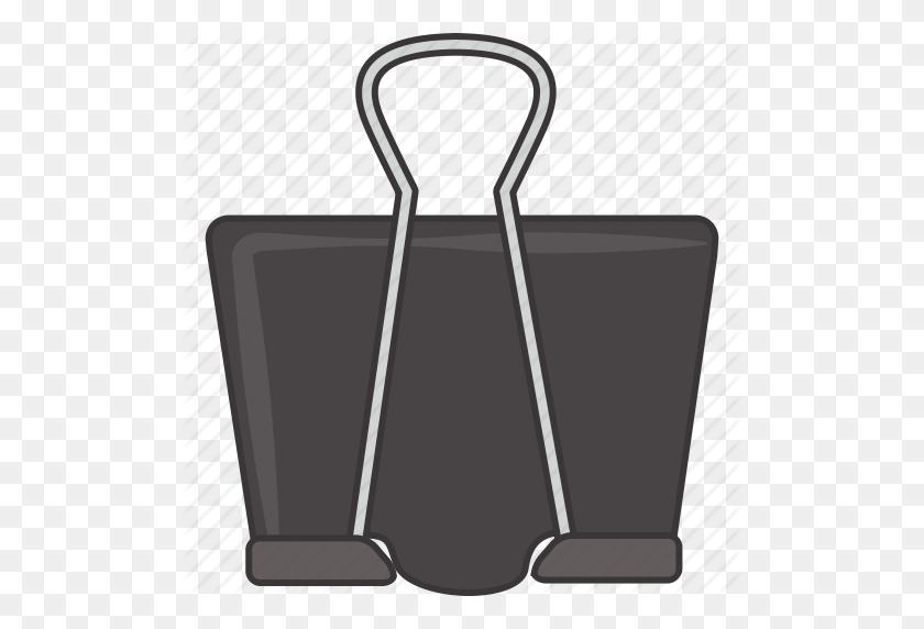 Binder, Clip Icon - Binder Clip Art