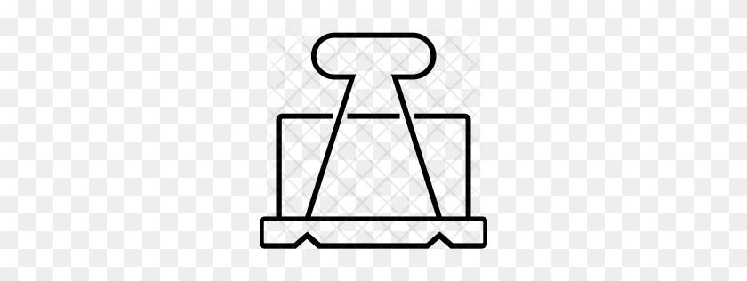Binder Clip Icon - Binder Clip Art