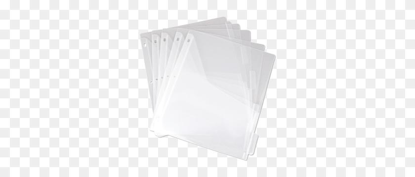 Binder Pockets, Tabbed Dividers Unikeep - Page Dividers PNG