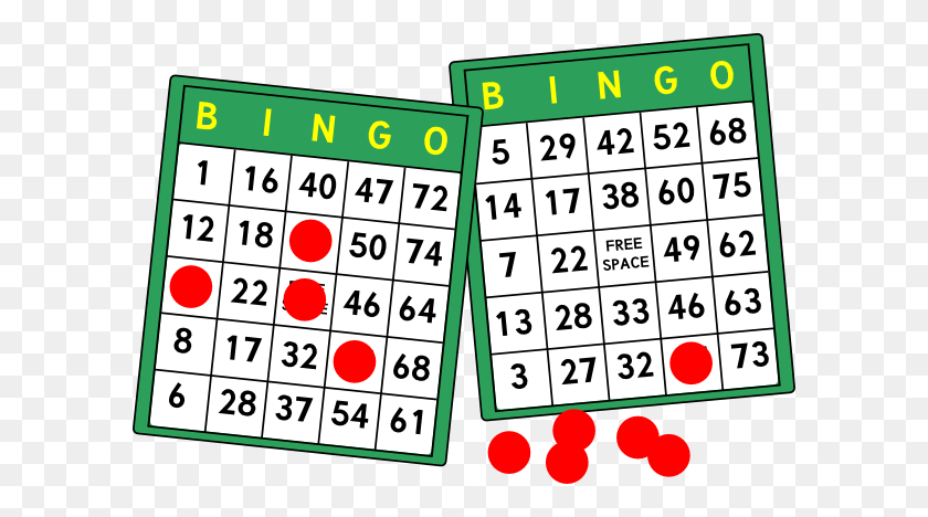 Bingo Cards Clip Art - Bingo Balls Clipart