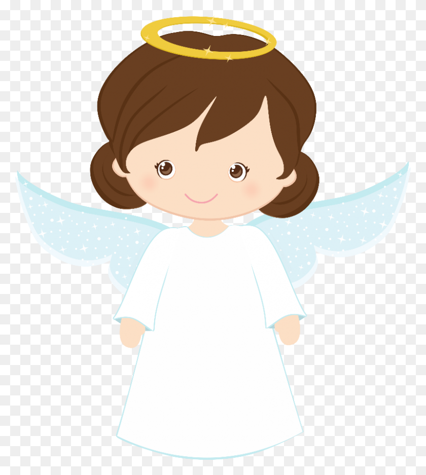800x900 Bird And Angels Clipart Oh My First Communion! - Free First Communion Clip Art