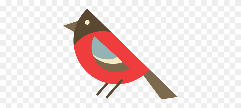 400x316 Bird And Pencil Clip Art - Bird Of Paradise Clipart