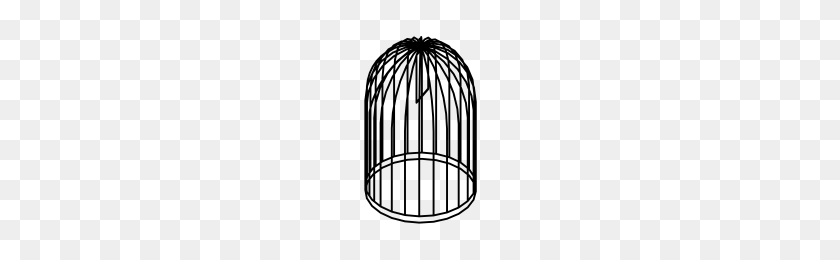 Bird Cage Icons Noun Project - Bird Cage PNG
