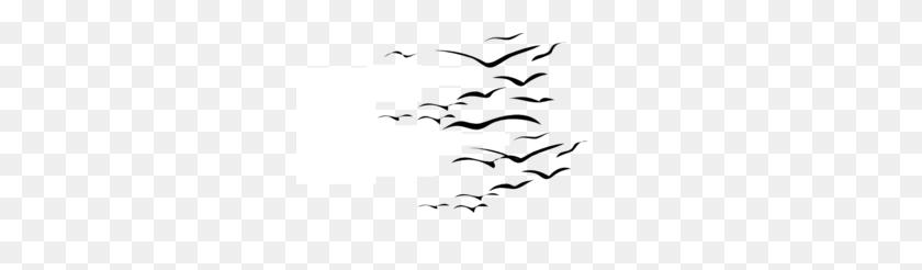 Bird Flock Png, Clip Art For Web - Birds Silhouette PNG