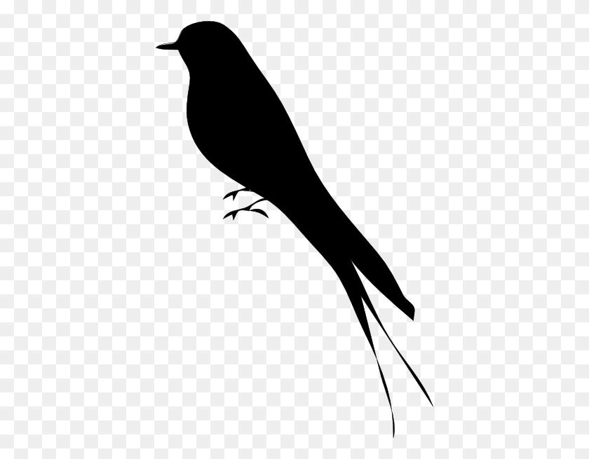 Bird Stand Tree Vine Silhouette Clip Art - Bird Clipart Silhouette