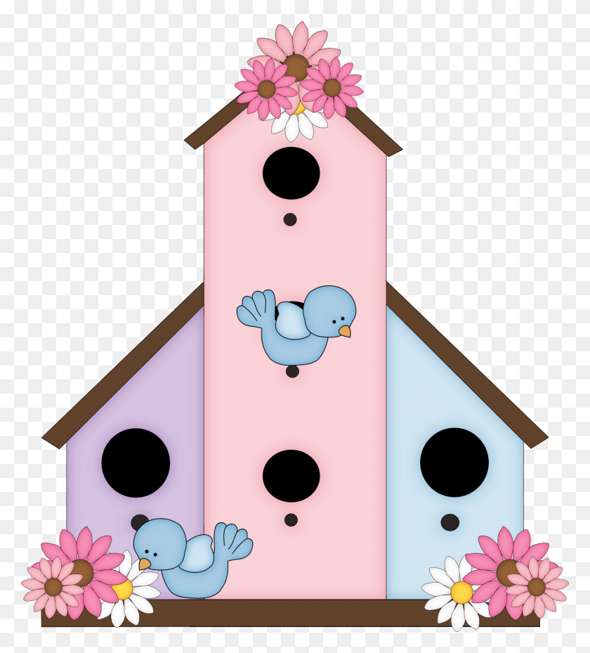 Birdhouse Clip Art Free - Well Clipart