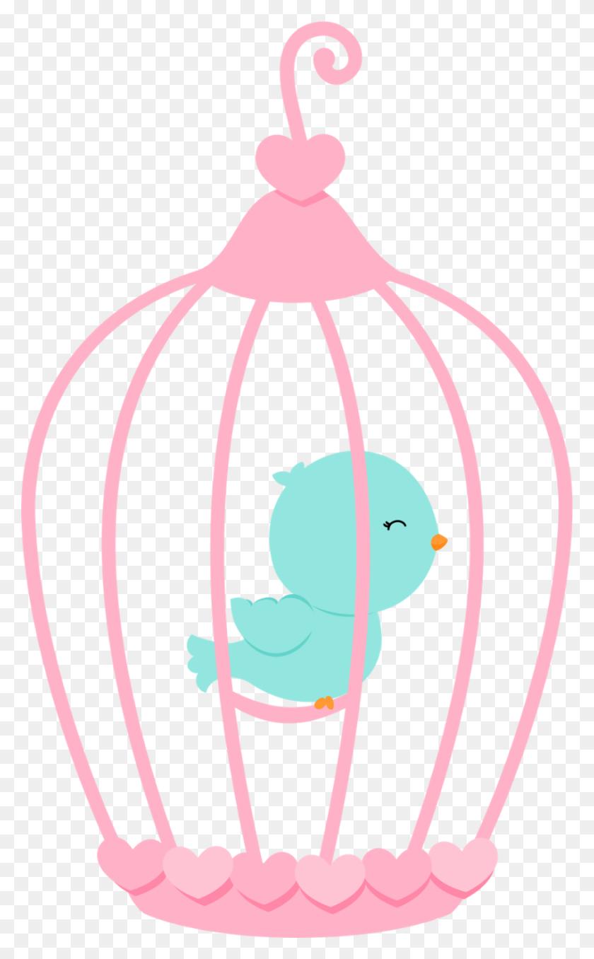 Birds, Bird Cage And Bird Houses - Bird Cage Clipart