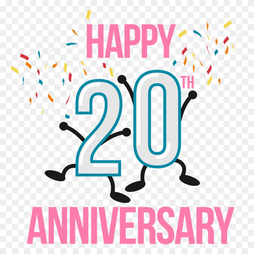 Birthday Anniversary Clip Art - 20th Anniversary Clip Art