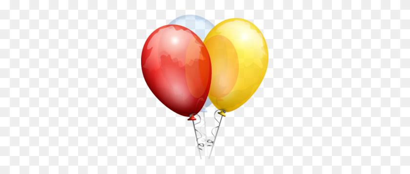 261x297 Birthday Balloons Clip Art - Free Clipart Birthday Balloons