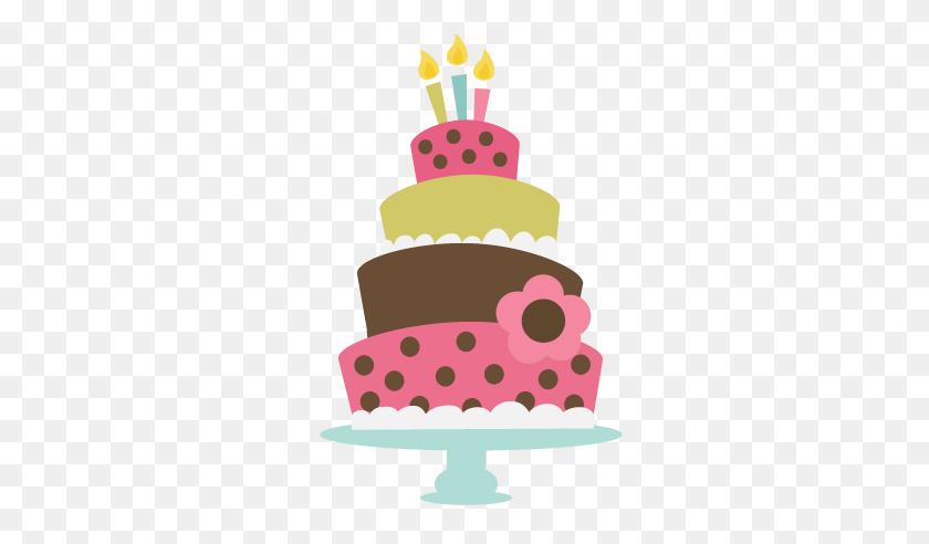 Birthday Cake Clip Art Clear Background - Birthday Clipart Transparent