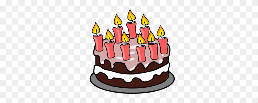 298x276 Birthday Cake Clip Art Png