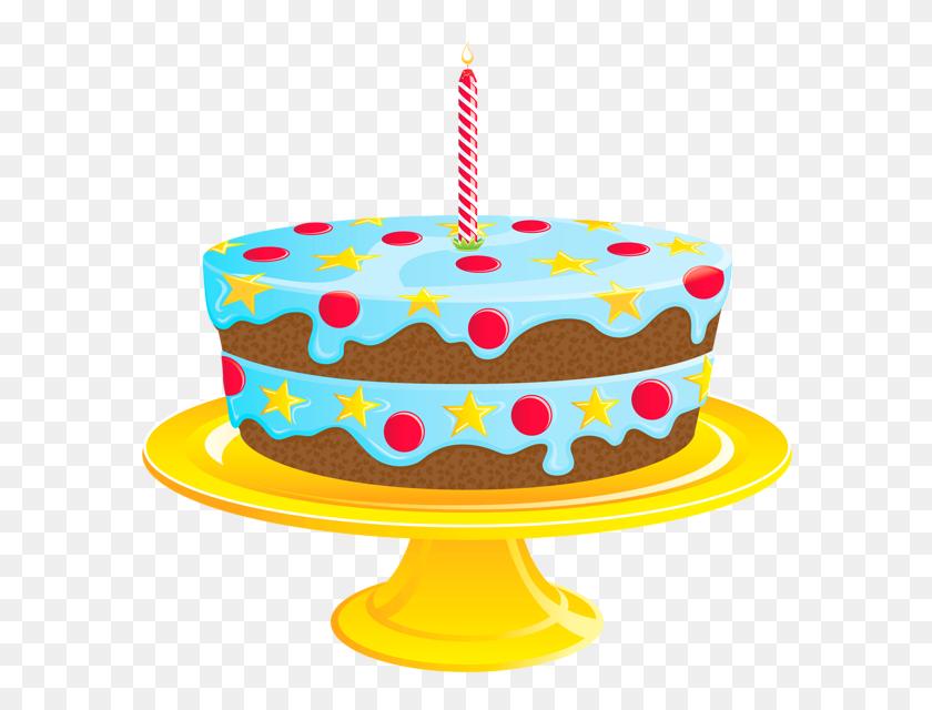 Birthday Cake Clip Art Transparent Background - Birthday Clipart Transparent