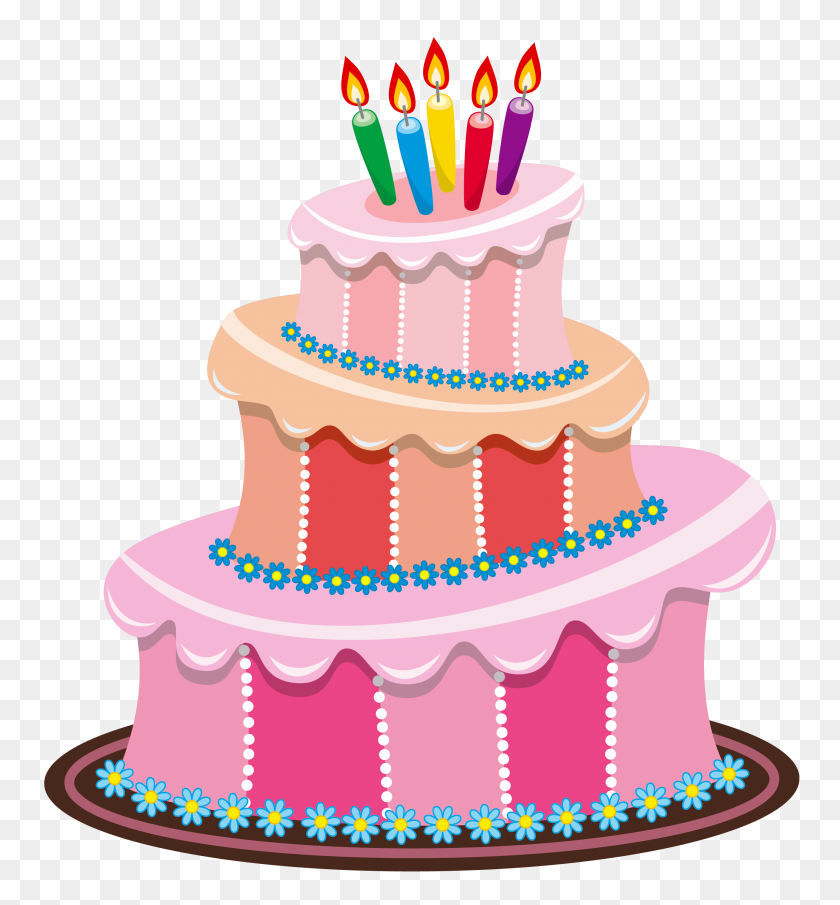 Birthday Cakes Birthday - Free Birthday Clipart