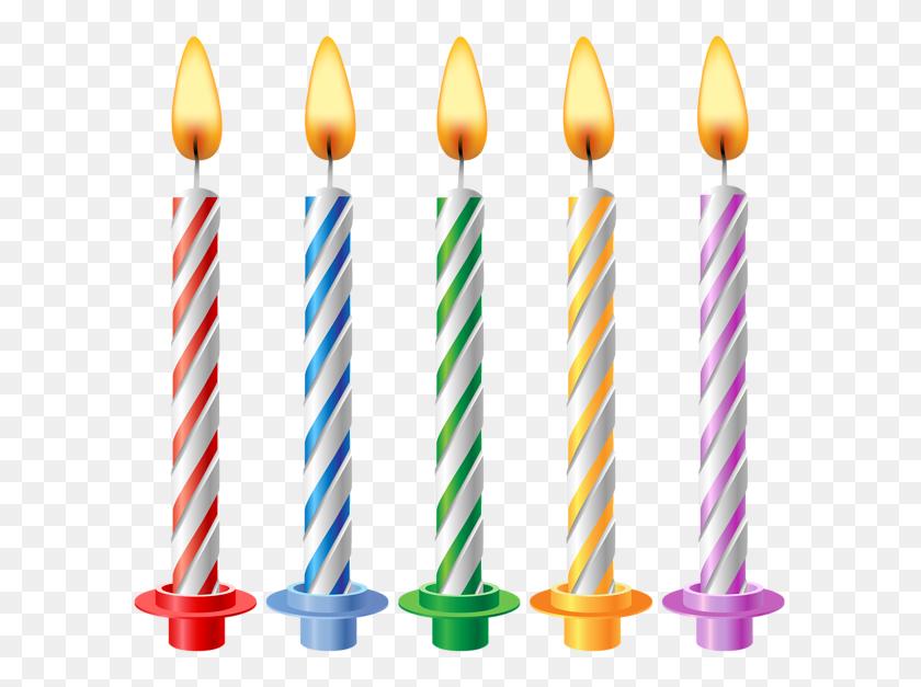 Birthday Candles Transparent Clip - Birthday Clipart Transparent