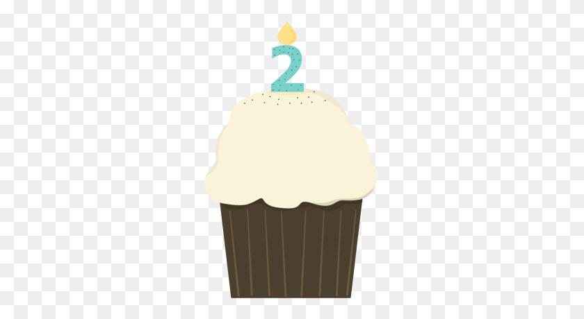 Birthday Cupcake Boy Clip Art - Birthday Boy Clipart