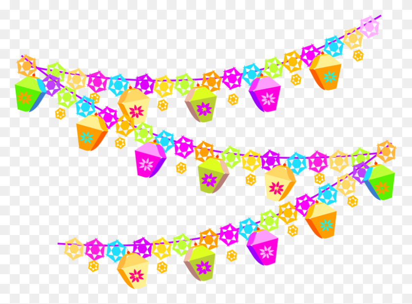 Birthday Dance Party Clip Art - Luau Party Clipart
