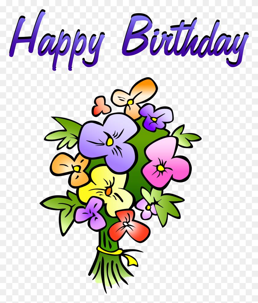 1969x2336 Birthday Flowers Clip Art