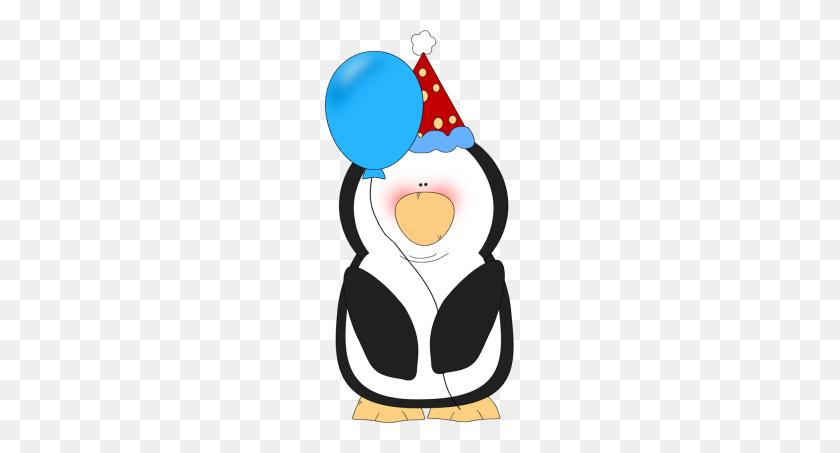 Birthday Party Penguin Clip Birthday Party Penguin Image - 70th Birthday Clip Art