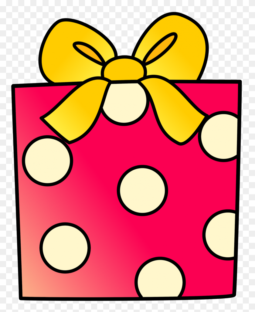 Birthday Present Clip Art Look At Birthday Present Clip Art Clip - Wrapped Present Clipart