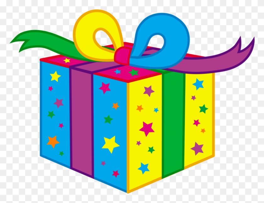 Birthday Present Clipart Birthday Gift - Free Clip Art Anniversary