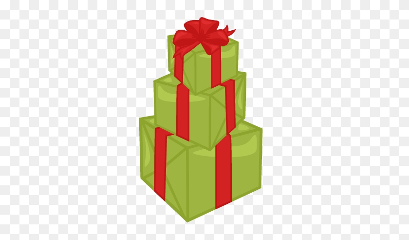 Birthday Present Clipart Stacked Present - Birthday Present PNG