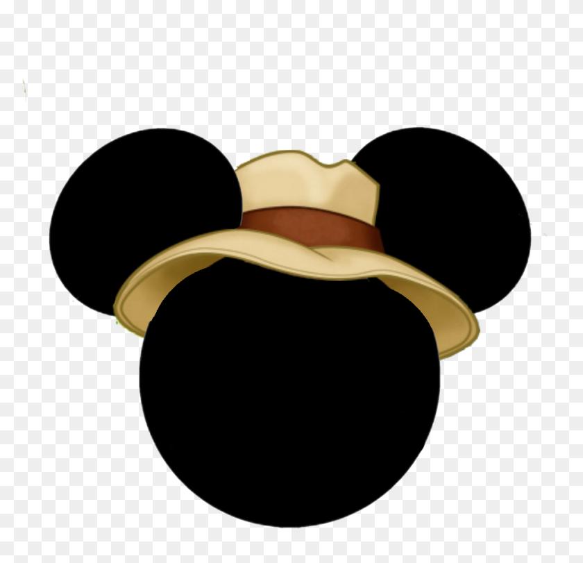 Birthdays Mickey Head, Disney - Mickey Mouse Silhouette PNG