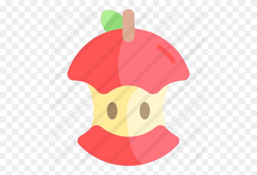 Bitten Apple - Bitten Apple PNG