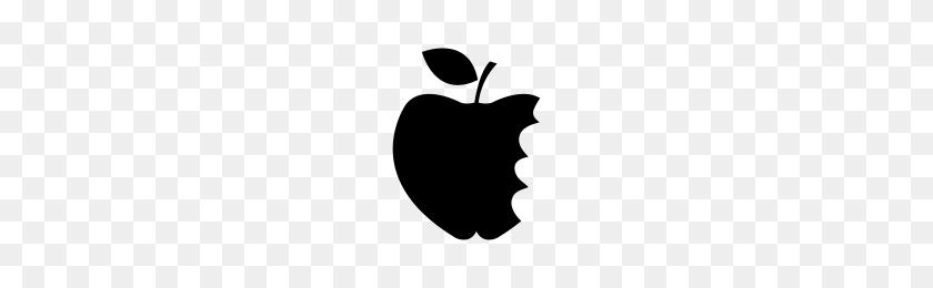 Bitten Apple Icons Noun Project - Bitten Apple PNG