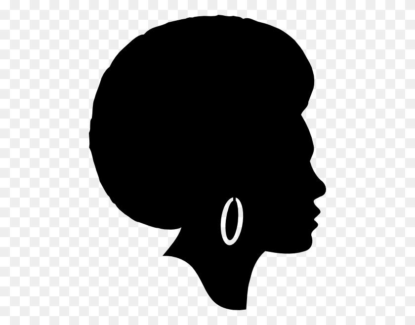 Black Afro Clipart Clip Art Images - Woman Clipart