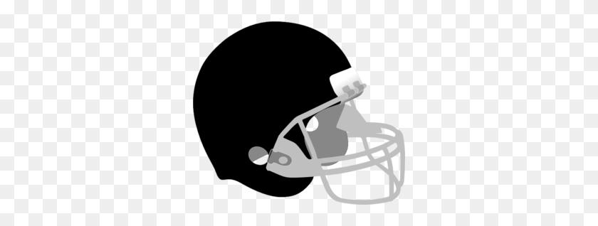 Black And Gray Helmet Clip Art - Football Helmet Clipart Black And White