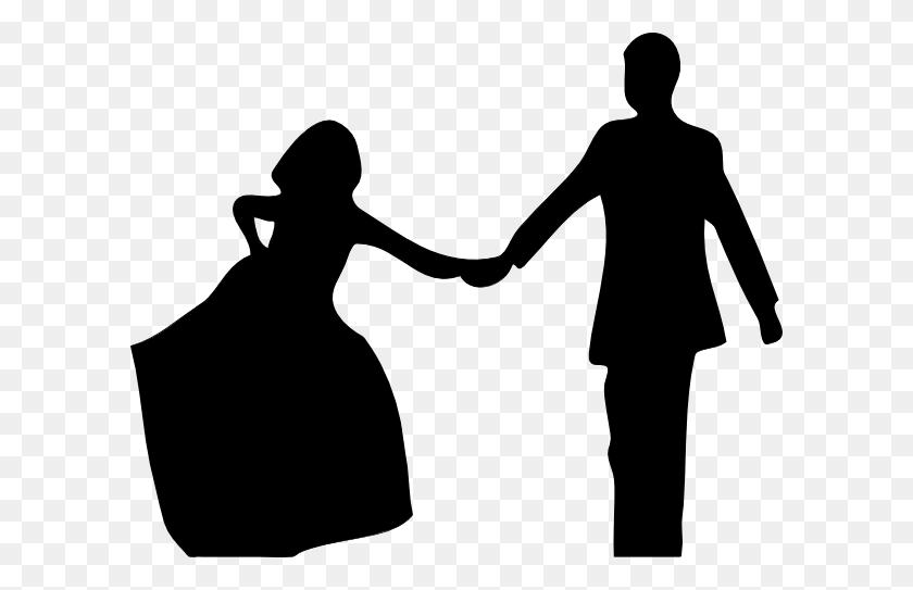 Black And White Bride And Groom Clip Art - Bride And Groom Clipart Black And White