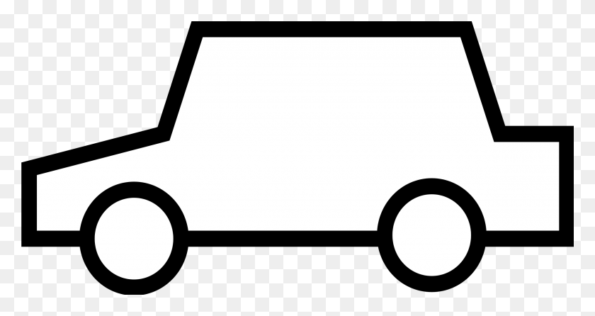Black And White Car Clipart Image Group - Person Clipart Black And White