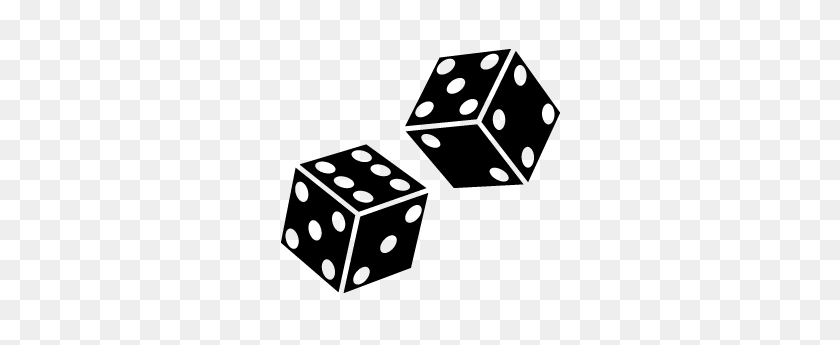 Black And White Dice Png Transparent Black And White Dice - Dice Clipart Black And White