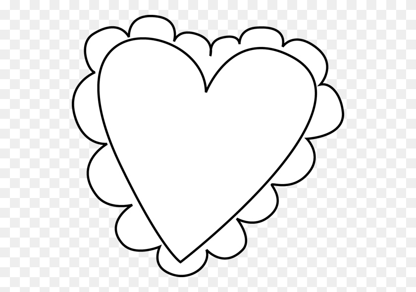 Black And White Valentines Desktop Backgrounds - Letter C Clipart Black And White